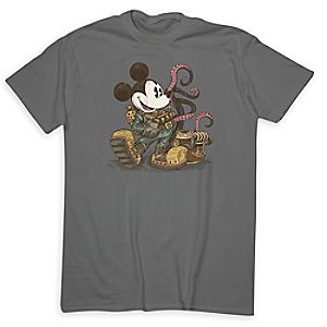 Mickey Mouse 20,000 Leagues Under the Sea Tee for Adults - Limited Release