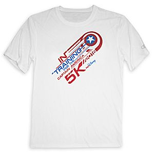 Captain America 5K 2016 runDisney Performance Tee for Adults by Champion®