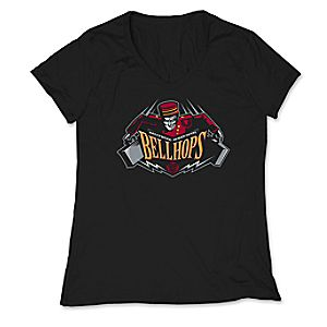 March Magic Tee for Women - Hollywood Tower Hotel Bellhops - Walt Disney World - Limited Release
