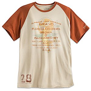 Orange Bird Sunshine Tree Terrace Tee for Men - Walt Disney World - Twenty Eight & Main Collection - Limited Availability