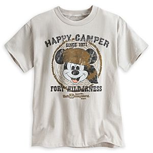 Mickey Mouse Fort Wilderness Tee for Kids - Walt Disney World - Limited Availability