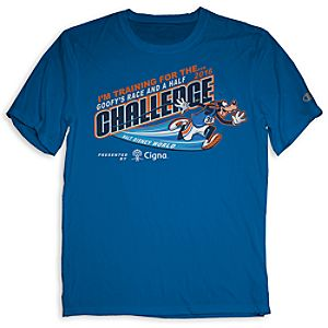 Goofyâ??s Race and a Half Challenge Tee for Kids - RunDisney 2016
