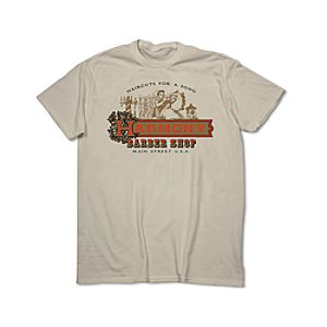 Harmony Barber Shop Tee for Kids - Walt Disney World - Limited Release