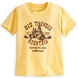 Big Thunder Mountain Railroad Tee for Kids - Walt Disney World - Limited Release