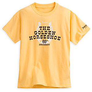 The Golden Horseshoe Tee for Kids - 60th Anniversary - Disneyland - Limited Release