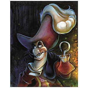 Captain Hook Giclée by Darren Wilson