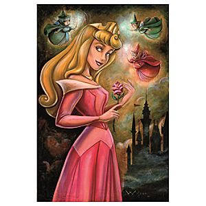 Sleeping Beauty Giclée by Darren Wilson