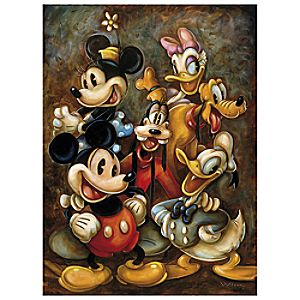 Classic Cast Mickey Mouse Giclée by Darren Wilson