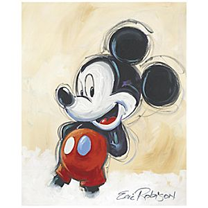 """Classic Mickey"" Giclée by Eric Robison"