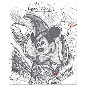 The Apprentice Sorcerer Mickey Mouse Giclée by Eric Robison