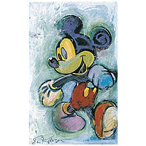 Skipping Out Mickey Mouse Giclée by Eric Robison