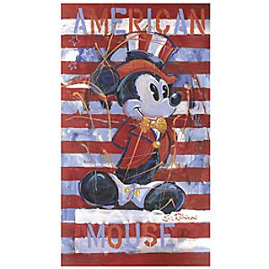 """American Mouse"" Mickey Mouse Giclée by Eric Robison"