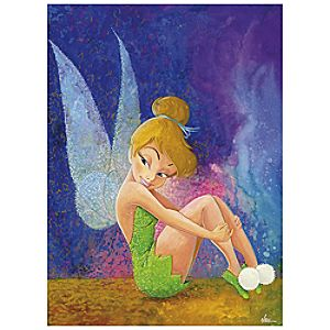 Tink Sitting Tinker Bell Giclée by Randy Noble