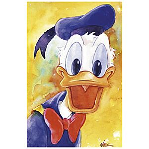 """Donald Duck Quacks"" Giclée by Randy Noble"