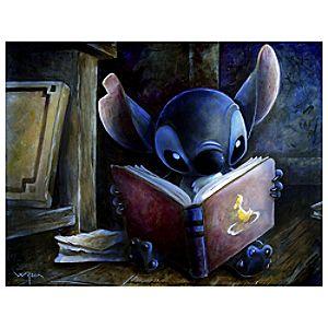 Stitch Giclée by Darren Wilson