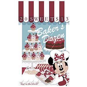 Minnie Mouse Bakers Dozen Giclée - Walt Disney World