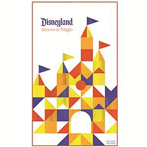 Disneyland Giclée - Castle by Tyler Dumas