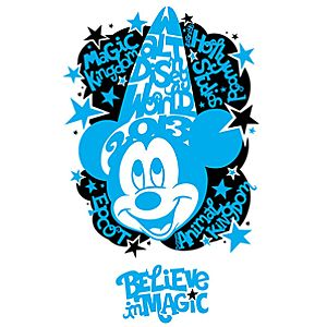 Sorcerer Mickey Giclée Sorcerer by Natalie Kennedy - Walt Disney World