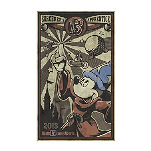 Mickey Mouse Giclée - Sorcerers Apprentice - Walt Disney World