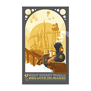 Bel13ve in Magic Giclée - Walt Disney World