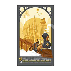 Bel13ve in Magic Giclée - Walt Disney World
