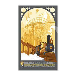 Bel13ve in Magic Giclée  - Disneyland Resort
