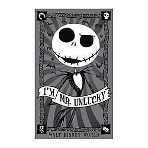 Jack Skellington Mr. Unlucky Giclée - Walt Disney World