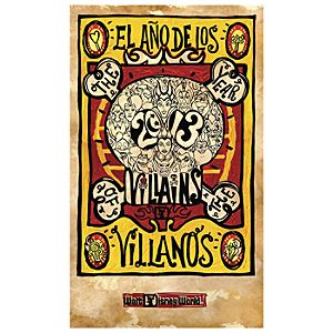 The Year of the Villains Giclée - Walt Disney World