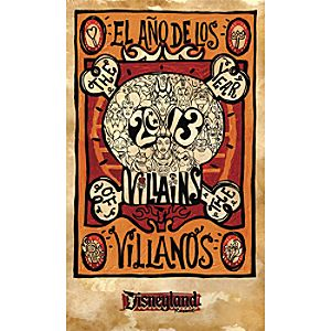 The Year of the Villains Giclée - Disneyland