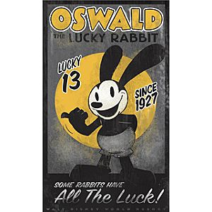 Lucky Oswald Giclée - Walt Disney World