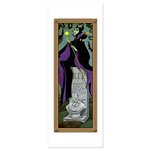 Maleficent Poster - The Haunted Mansion - Limited Availability