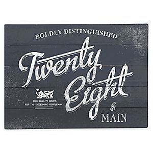 Twenty Eight & Main Wood Sign - Limited Release