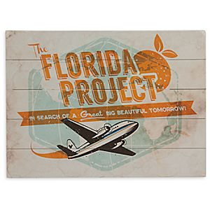 Florida Project Wood Sign - Limited Release