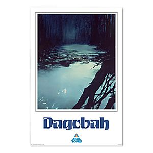 Star Tours Dagobah Giclée - Limited Release