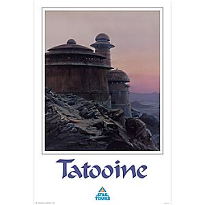Tatooine Giclée - Star Tours - Limited Release