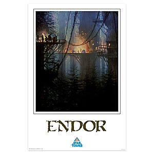 Star Tours Endor Giclée - Limited Release