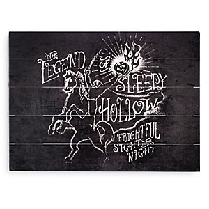 Headless Horseman Wood Sign - The Legend of Sleepy Hollow - Twenty Eight & Main Collection - Limited Release