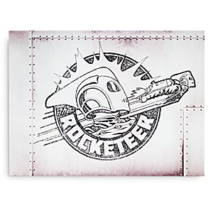 The Rocketeer Wood Sign - Twenty Eight & Main Collection - Limited Release