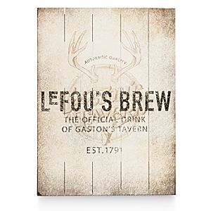 LeFous Brew Wood Sign - Twenty Eight & Main Collection