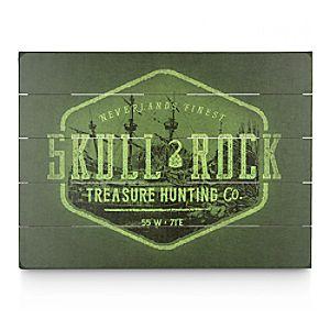 Skull Rock Treasure Hunting Co. Wood Sign - Twenty Eight & Main Collection