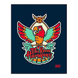 March Magic Poster - Tiki Room Harmony - Disneyland - Limited Release