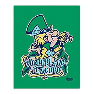 March Magic Poster - Wonderland Teacups - Disneyland - Limited Release