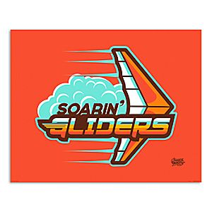 March Magic Poster - Soarin Gliders - Disneyland - Limited Release