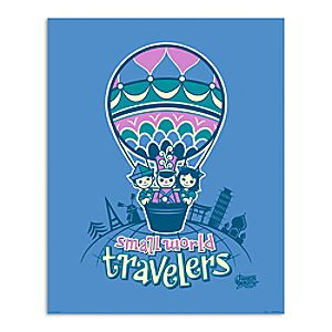 March Magic Poster - Small World Travelers - Disneyland - Limited Release