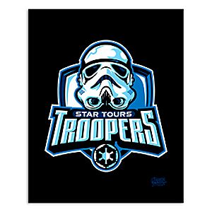 March Magic Poster - Star Tours Troopers - Walt Disney World - Limited Release