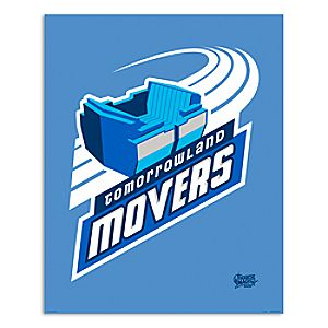 March Magic Poster - Tomorrowland Movers - Walt Disney World - Limited Release