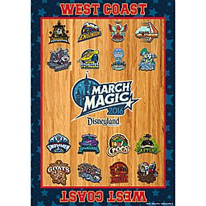 March Magic West Coast Team Poster - Disneyland 2016 - Limited Release