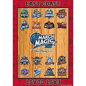 March Magic East Coast Team Poster - Walt Disney World 2016 - Limited Release