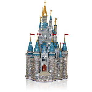 Limited Edition Walt Disney World Cinderella Castle Sculpture by Arribas Brothers