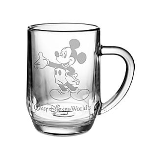 Personalizable Glass Mickey Mouse Mug by Arribas